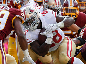 Watch: Carlos Hyde throws ball at stands after fourth-down TD