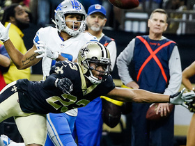 Saints deny Lions on fourth and goal before halftime