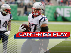 Can't-Miss Play: Gronk beats entire Jets secondary for TD