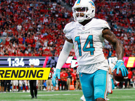 Watch: Jarvis Landry launches ball into stands after TD
