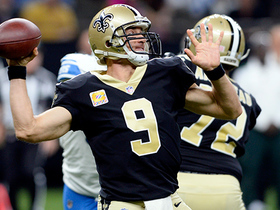 Watch: Drew Brees finds wide-open Hoomanawanui for touchdown