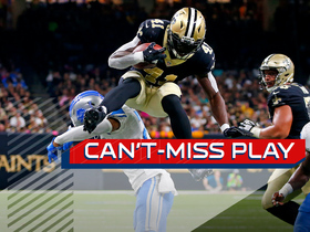 Can't-Miss Play: Alvin Kamara gets UP to clear Darius Slay on hurdle