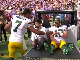 Aaron Rodgers could miss rest of season with broken collarbone