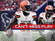 Watch: Can't-Miss Play: Myles Garrett's pressure leads to Jason McCourty's pick-six