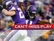 Watch: Can't-Miss Play: Harrison Smith tips ball to himself for INT