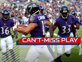 Watch: Can't-Miss Play: Campanaro gets to the edge for devastating 77-yard punt return TD