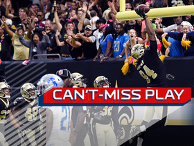 Watch: Can't-Miss Play: Cameron Jordan makes goal-line pick-six