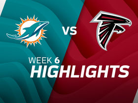 Dolphins vs. Falcons highlights | Week 6