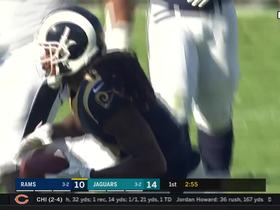 Jared Goff throws strike to Sammy Watkins for first down after fake handoff