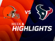 Watch: Browns vs. Texans highlights | Week 6