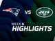 Watch: Patriots vs. Jets highlights | Week 6