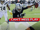 Watch: Can't-Miss Play: Michael Crabtree takes gigantic leap to get in for the TD