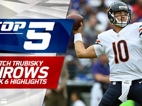 Mitchell Trubisky's Top 5 throws | Week 6