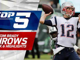 Tom Brady's Top 5 Throws | Week 6