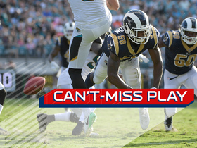 Watch: Can't-Miss Play: Entire Rams special teams carries blocked punt in for TD
