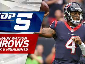Deshaun Watson's Top 5 Plays | Week 6