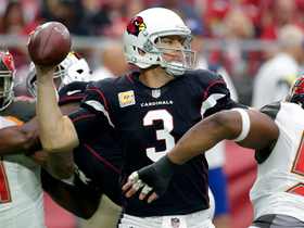 Carson Palmer lobs back shoulder pass to John Brown for TD