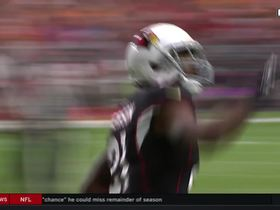 Watch: Patrick Peterson swats fourth-down pass away from Mike Evans