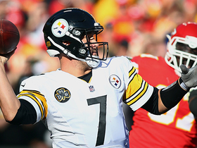 Ben Roethlisberger finds Antonio Brown wide open for 30-yard catch