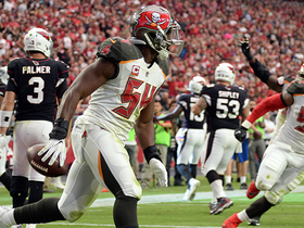 Watch: Lavonte David takes Cardinals' fumble to the house for TD