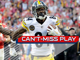 Watch: Can't-Miss Play: Antonio Brown takes miracle catch to the house