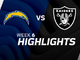Watch: Chargers vs. Raiders highlights | Week 6