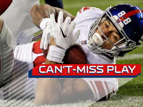Watch: Can't-Miss Play: Evan Engram dives into end zone for Giants TD