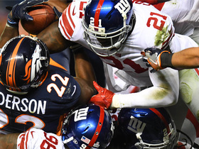 Watch: Giants D stuffs C.J. Anderson to make fourth-down goal-line stand