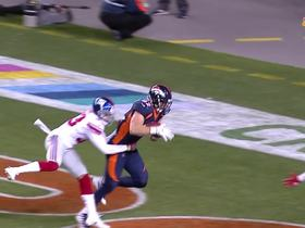 Jeff Heuerman catches 13-yard TD amid big bunch of defenders