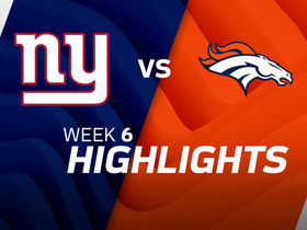 Giants vs. Broncos highlights | Week 6