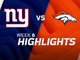 Watch: Giants vs. Broncos highlights | Week 6
