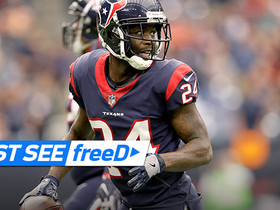 Watch: freeD: Johnathan Joseph takes INT 82 yards TO THE HOUSE | Week 6