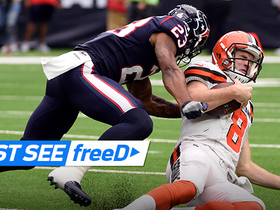 Watch: freeD: Kurtis Drummond sacks Kevin Hogan | Week 6