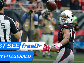 Watch: freeD:  Carson Palmer hits Larry Fitzgerald for 11-yard TD | Week 6