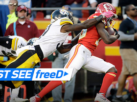 Watch: freeD: Go inside Smith's helmet on Thomas TD toss | Week 6