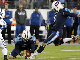 Watch: Ryan Succop sets record for most consecutive FGs made under 50 yards
