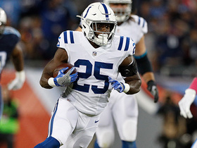 Watch: Mack Attack! Marlon Mack surges into secondary for 22-yard run