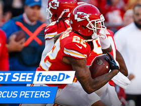 Watch: freeD: Marcus Peters interception | Week 6