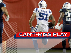 Watch: Can't-Miss Play: Simon says PICK SIX!