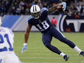Watch: Rishard Matthews leaps over defender for 27 yards
