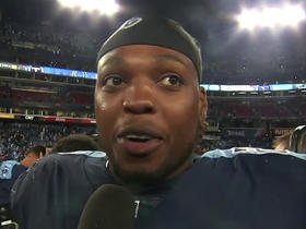 Watch: Derrick Henry says TD run came on his 'favorite play' in Titans' playbook