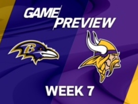 Watch: Ravens vs. Vikings Week 7 game preview