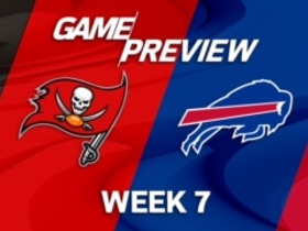 Watch: Buccaneers vs. Bills Week 7 game preview