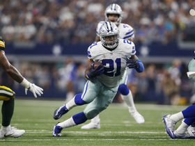 What is the impact of Ezekiel Elliott being able to play on Sunday?