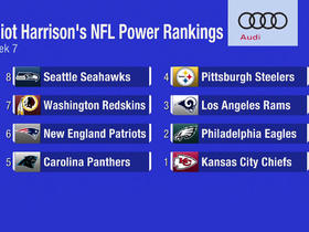 Watch: Elliot Harrison's NFL Power Rankings- Week 7