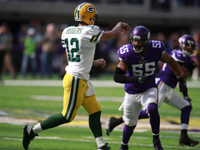 Watch: Tony Gonzalez: Anthony Barr's hit on Aaron Rodgers wasn't dirty