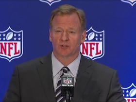 Watch: Goodell: We encourage players to stand for anthem, but continue to work on 'underlying issues'
