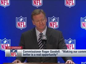 Watch: Goodell says he and players have good understanding of issues they're protesting