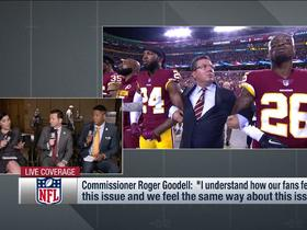 Watch: Battista: Most owners on same page about not changing rules surrounding anthem
