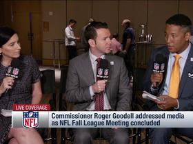 Watch: What comes next for player protests after meetings with owners, Roger Goodell?